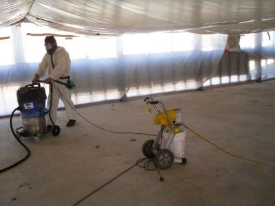 Asbestos removal & disposal